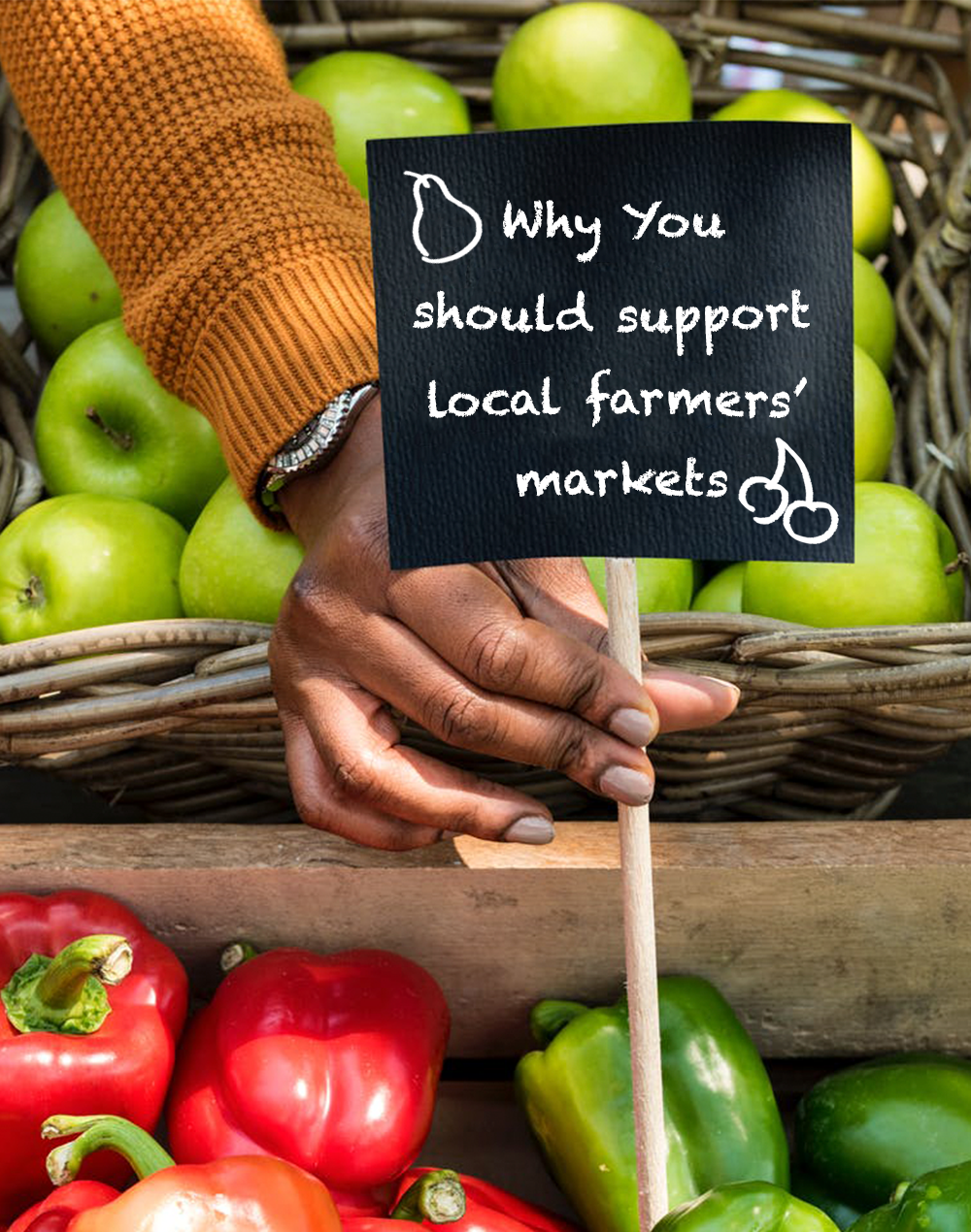 Why you should support local farmers' market